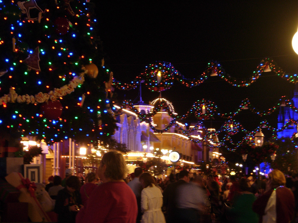 Photo Credit: Dawn Penningtonr cc. There's nothing quite like Christmas at Disney World.