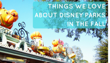 Things We Love About Disney Parks In The Fall