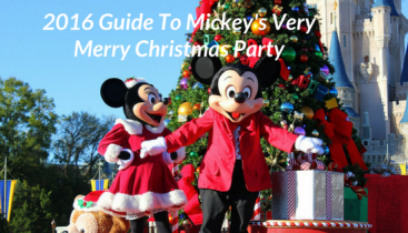 2016 Guide To Mickey's Very Merry Christmas Party